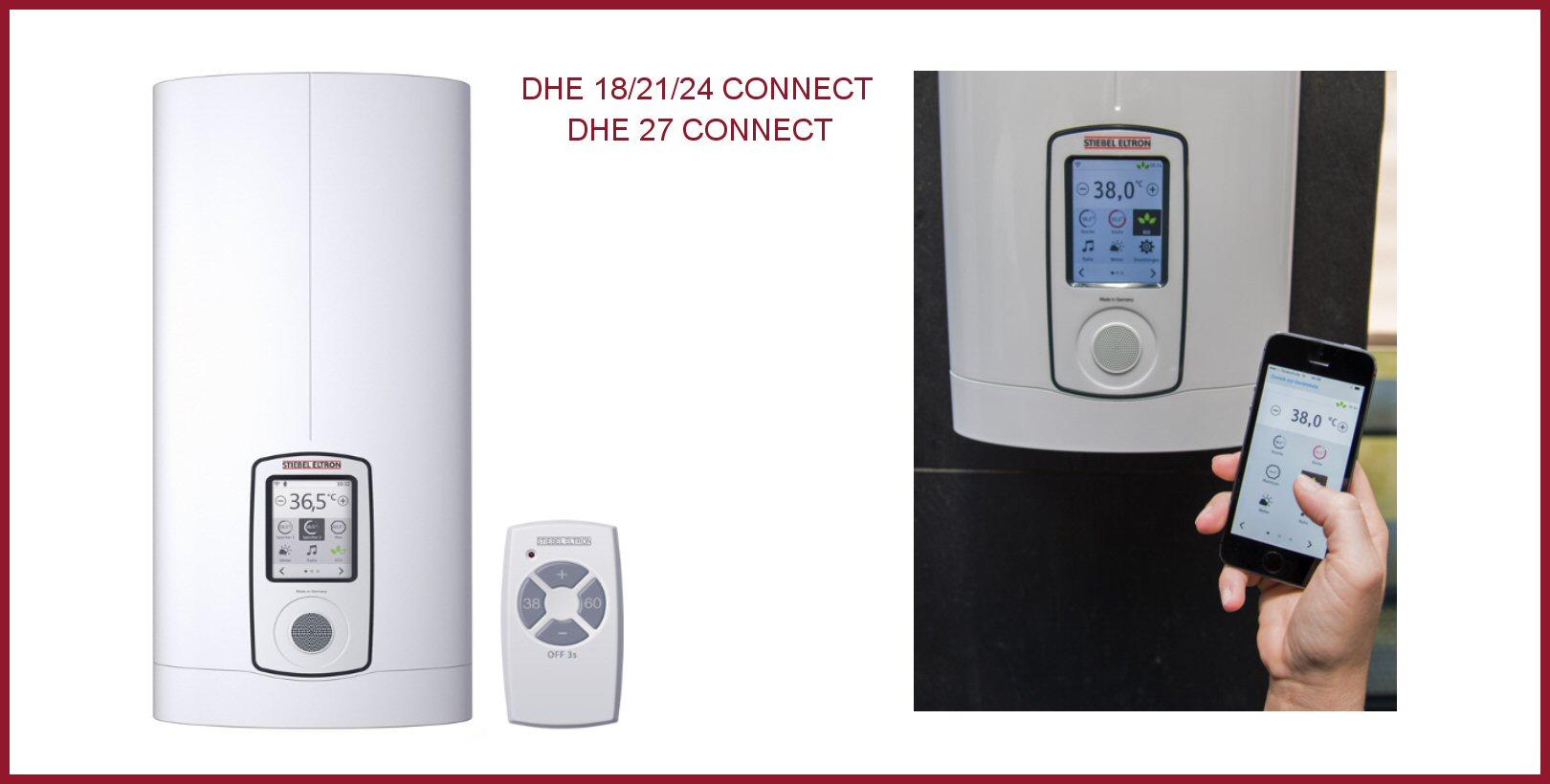 elektroniczny ogrzewacz wody dhe connect 18 21 24 premium 18kw 21kw 24kw stieb piece. Black Bedroom Furniture Sets. Home Design Ideas